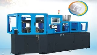 One stop three stations injection moulding machine fully automatic PVC fittings bottles inject mold