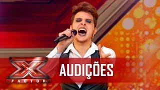 diego conquista os jurados com lady gaga   x factor brasil