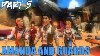 "Jack Keane 2 The Fire Within Walkthrough Part 5 ""Amanda and Guards"" Gameplay Playthrough PC"