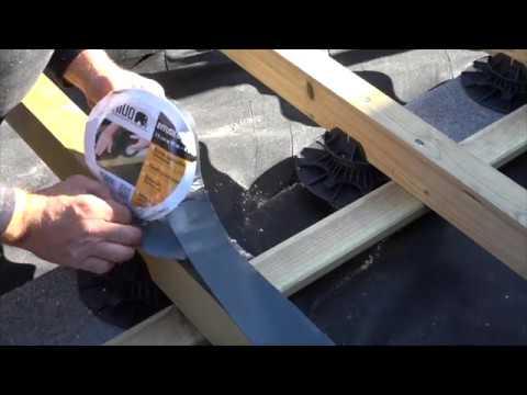 Bande Bitumineuse Bitudeck Protection Des Lambourdes Youtube