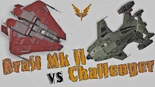 Elite:Dangerous. Krait Mk II vs Alliance Challenger