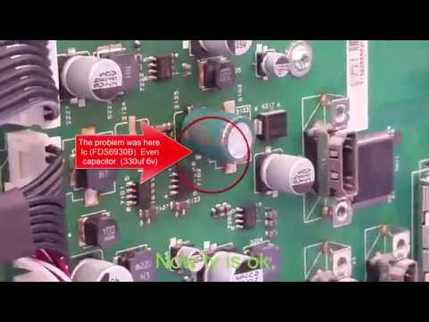 PHILIPS 37PFL8404H/12  repair  On TV only the red light switches on twice   Every two seconds