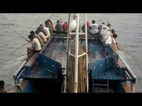 Mancing ikan tongkol dan cakalang-cara nelayan indonesia mancing berlimpah