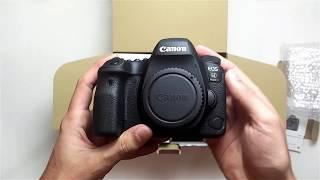 Canon 6D Mark ii Unboxing (24-105 F4 kit)