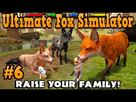 Ultimate Fox Simulator- Part 6- By  Gluten Free Games -RAISE YOUR FAMILY- Simulation - IOS/Android