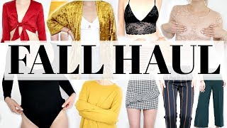 *HUGE* Fall Haul & Try On | Meghan Rienks