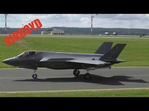 The F-35A Arrives
