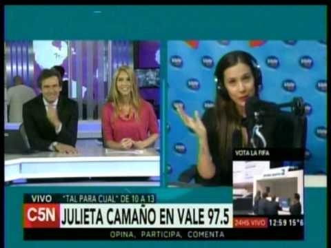 C5N -  DUPLEX ENTRE ARGENTINA EN VIVO Y TAL PARA CUAL 29-05
