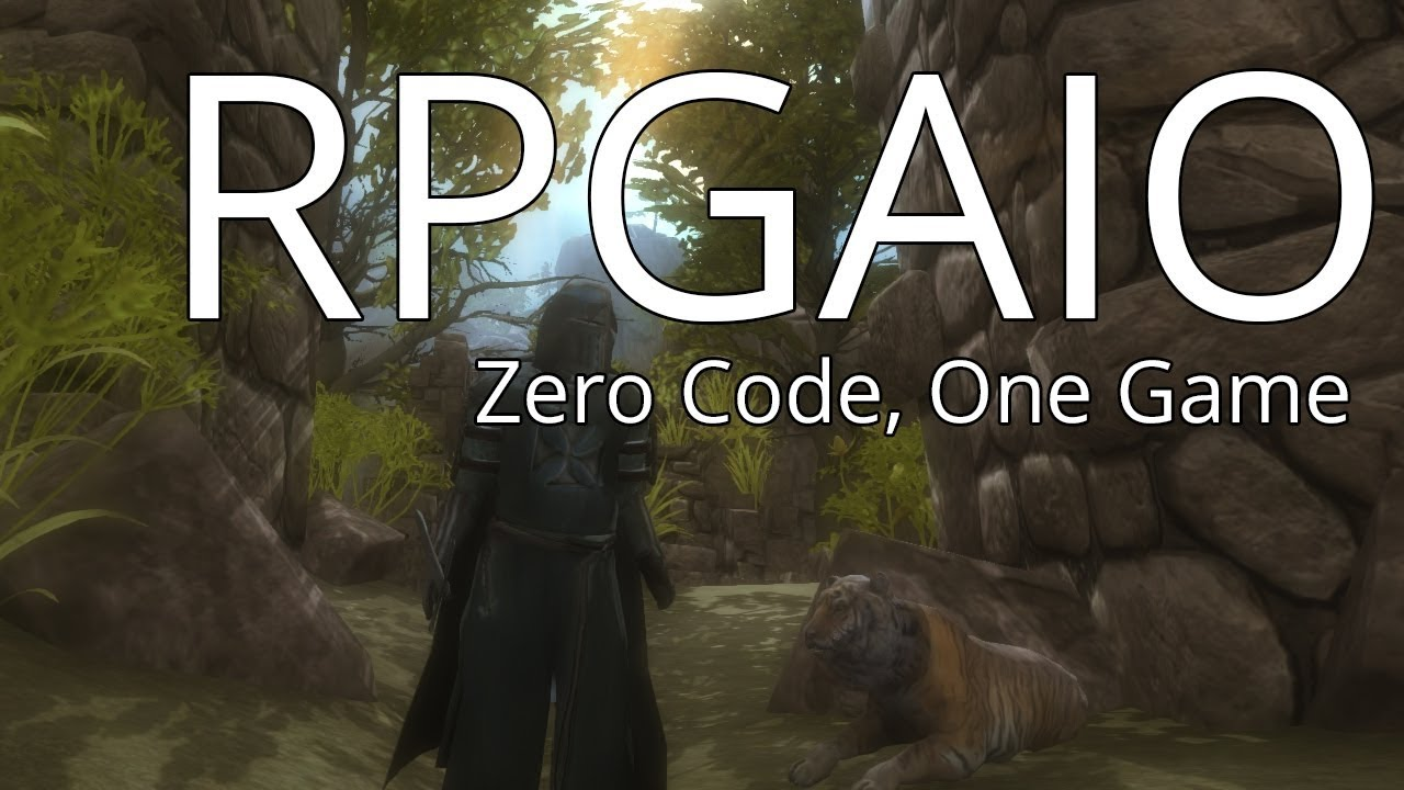 RPGAIO Update 1 4 0 Video - Unity3D RPG Engine / Framework (Mobile Update)