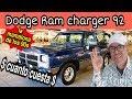 DODGE ram charger LA CREMA Y NATA en los 90s ?? camionetas en venta trucks autodinamico OJO VENDIDA