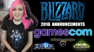 Gamescom Blizzard Announcements Recap | 2016