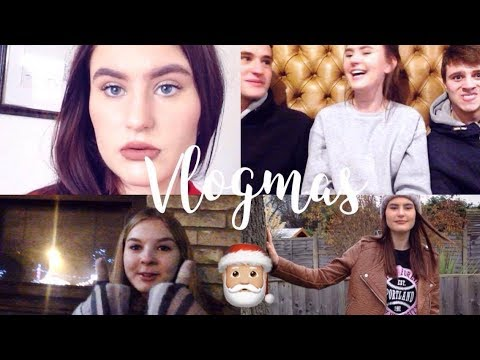 Christmas Market, Cinema & Decorations! | Vlogmas 8,9&10