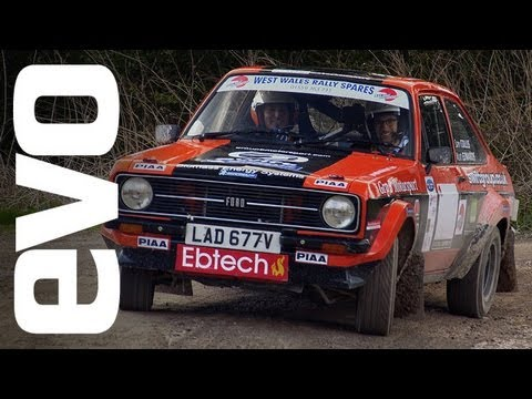 Ford Escort RS1800 rally car at Goodwood | evo DIARIES