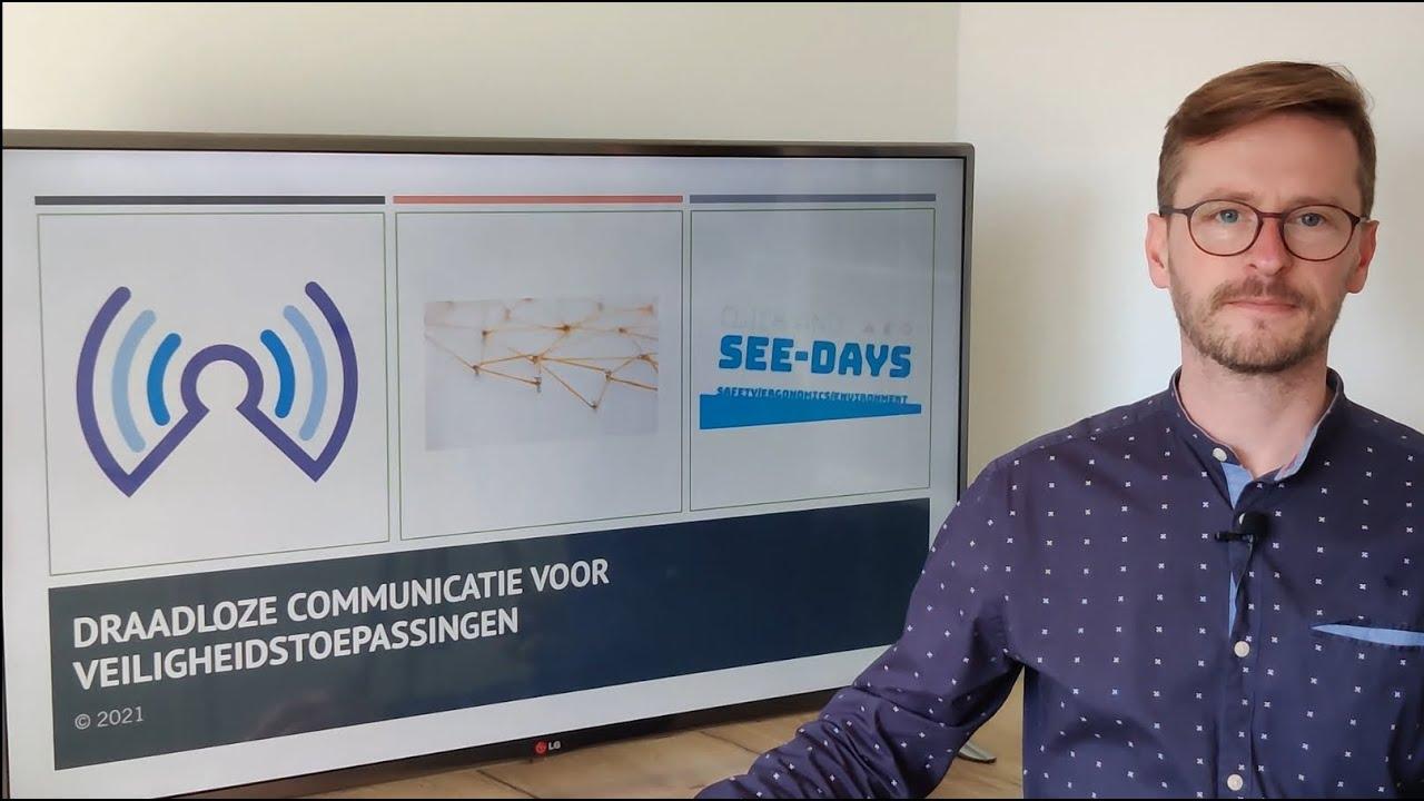 Click & See days 2021 - Draadloze communicatie voor veiligheidstoepassingen