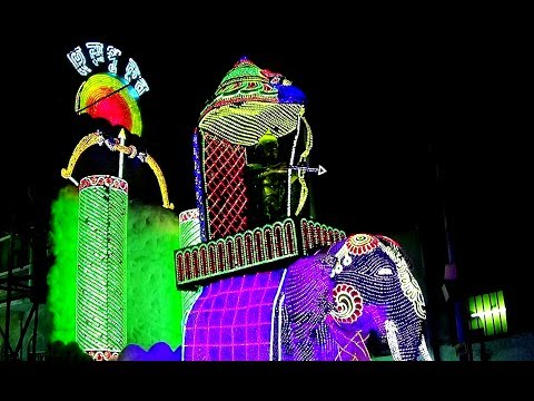 Best LED Lighting 2017 | Chandannagar Jagadhatri Puja | Hela Pukur Dhar