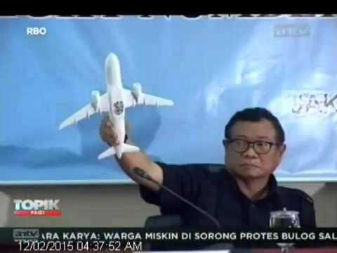 [ANTV] TOPIK KNKT Rilis Hasil Investigasi AirAsia QZ8501