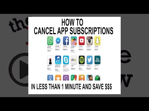 How to cancel app subscription on iphone in less than a minute and save money