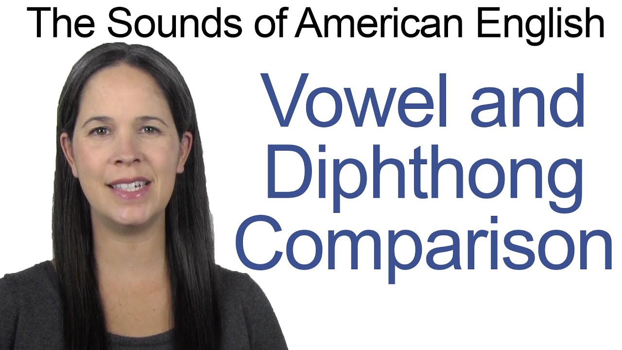 English Sounds - Vowel and Diphthong Comparison