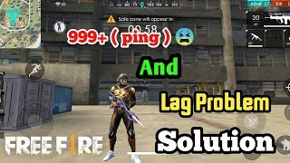 999+ ( ping ) and lag problem solution in Garena Free Fire | free fire ping problem | Gamer Rk