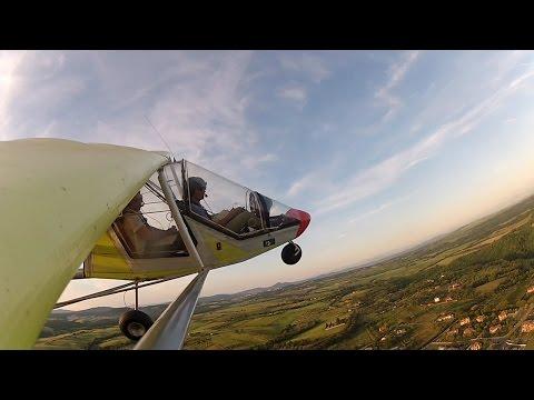 Flying the FireFox ULM over my school