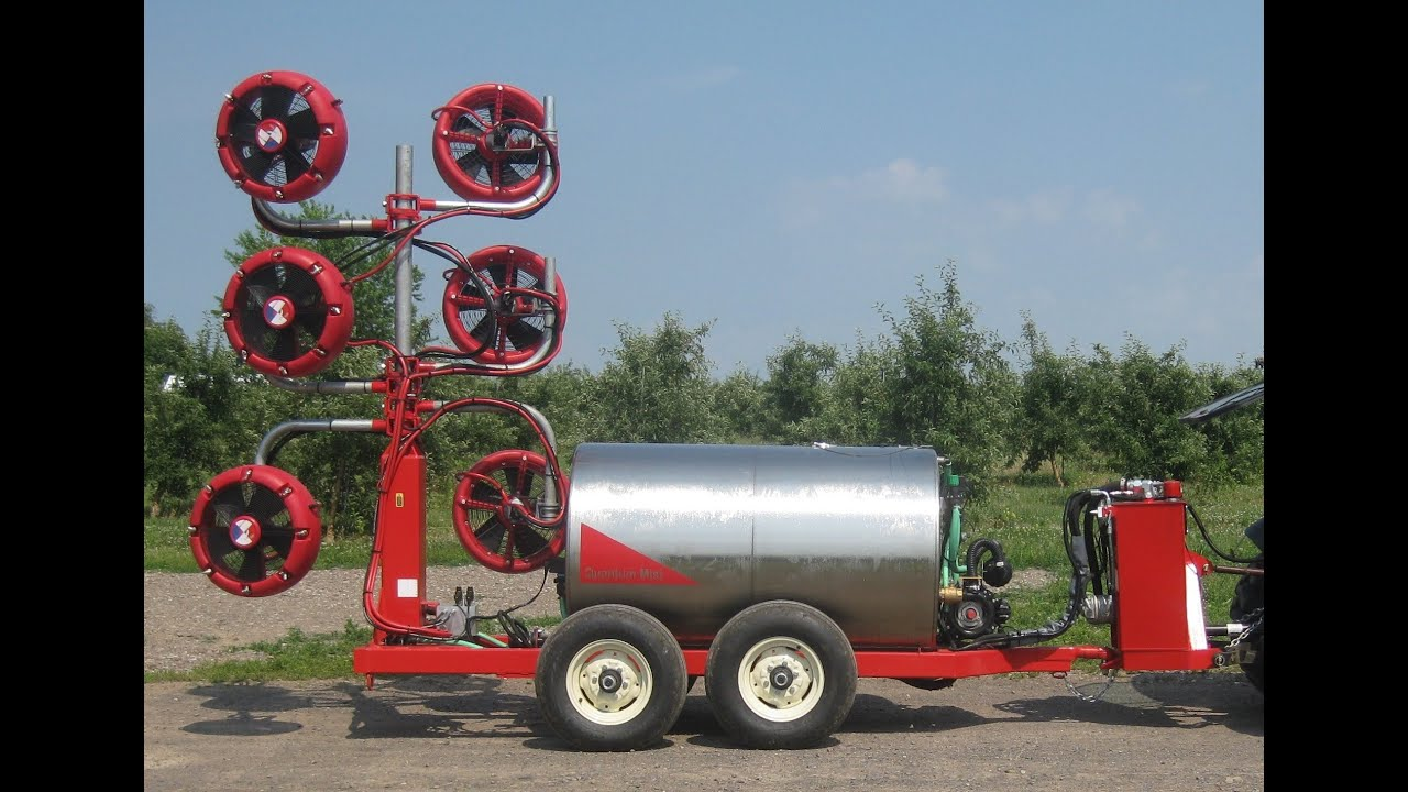 Quantum Mist Orchard Sprayer Youtube