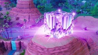 Aparicion del cubo en forma de rayo ll Battle Royale Fortnite