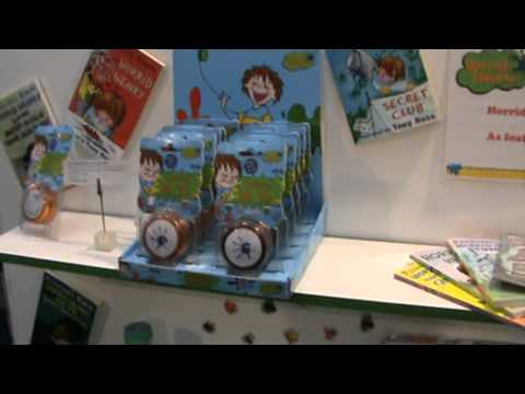 Toy Fair 2011(Horrid Henry film Review:http://www.kidzcoolit.com/ ) 8/21 Horrid Henry the movie Toys