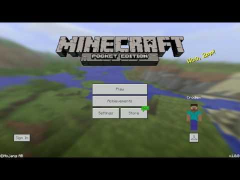 Minecraft Indonesia - Cara Memasang Map Di Minecraft: Pocket Edition