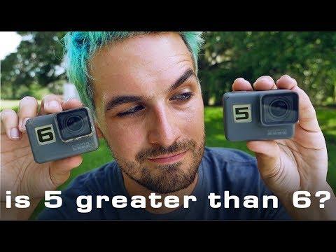is GoPro HERO5 better than HERO6 for FPV?