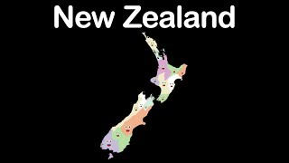 Gambar cover New Zealand Geography/New Zealand Country