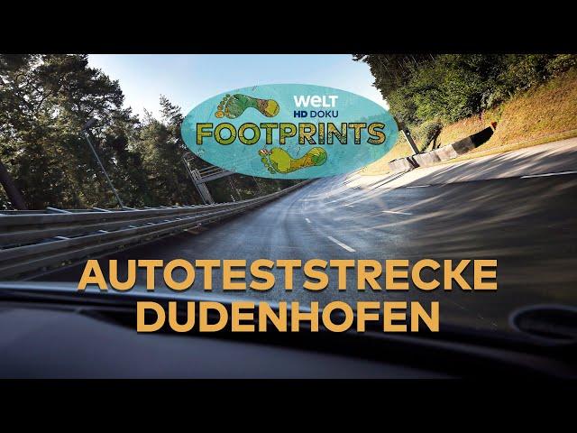 Autoteststrecke Dudenhofen 🏎 FOOTPRINTS 👣   HD Doku