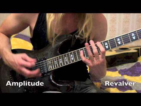 amplitube and revalver comparison with pillars of creation (cover by del tremens)