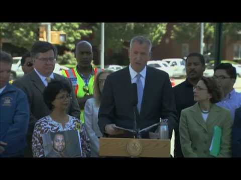Mayor de Blasio Announces Vision Zero Overhaul of Queens Boulevard