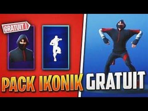 LIVE FORTNITE J'OFFRE LE SKIN IKONIK ! VIENS DISCUTER ! + 100€ DE VBUCKS A GAGNER