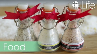 Diy Holiday Gift: A Trio Of Seasoned Salts
