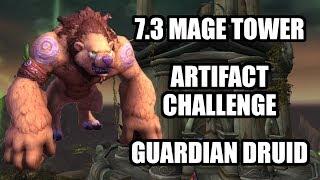 7.3.5 Bite-Sized Kruul Artifact Challenge Guide #1 - 903 Guardian Druid NO LUFFA/NO TIER