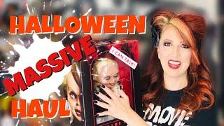 MASSIVE HALLOWEEN HAUL Fright Rags Halloween 2018 Trick Or Treat Studios & Halloween Costumes
