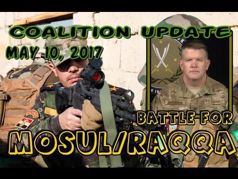 NATO w/CC: IRAQ/SYRIA. 5-10-17. Col. Dorrian's Final Update On War Against Wahhabi Terrorist Groups.