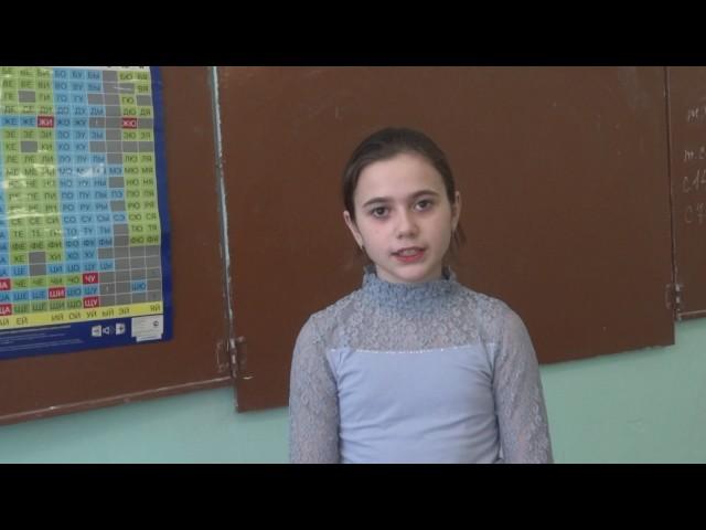 Изображение предпросмотра прочтения – КаринаМалявская читает произведение «Славянка» В.А.Жуковского