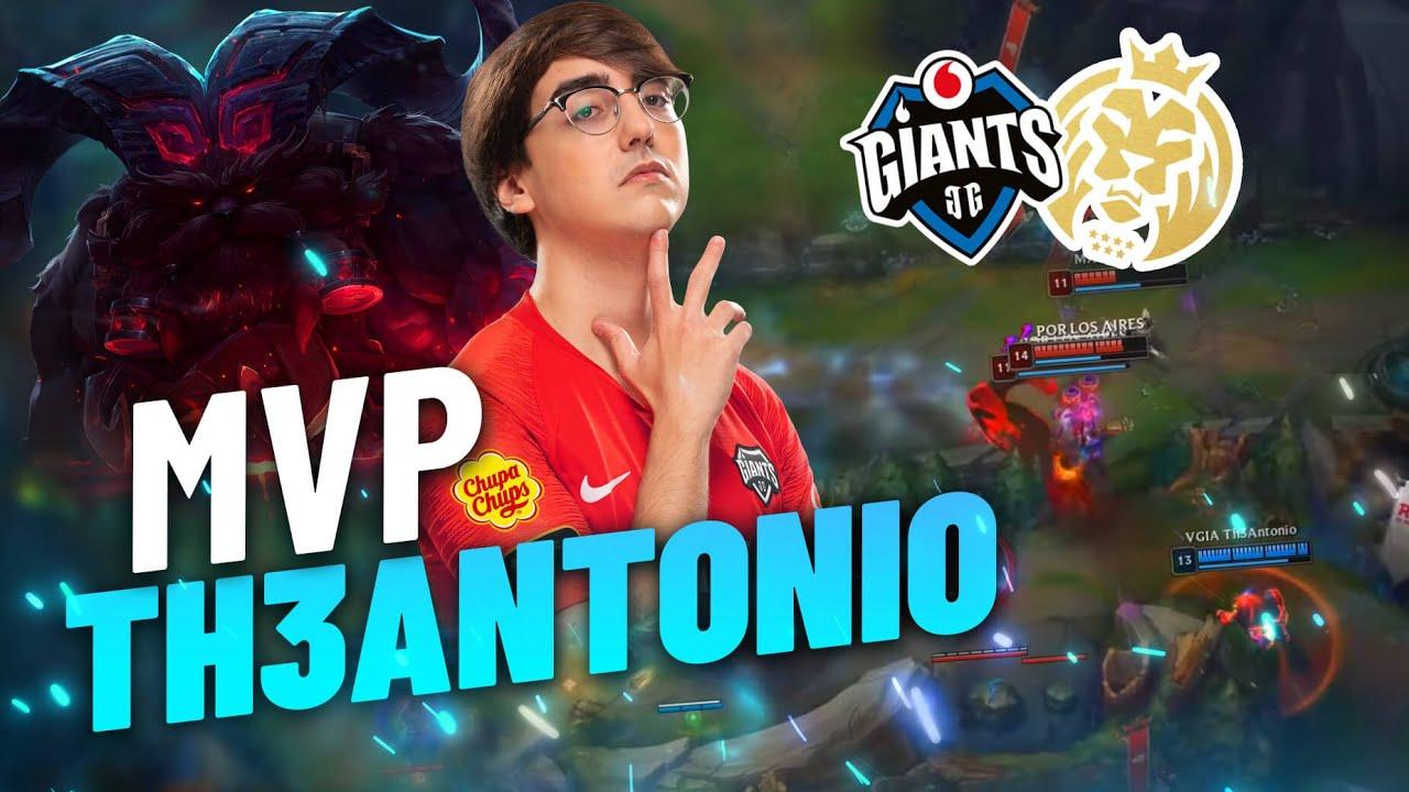 MVP para TH3ANTONIO... ¿¡JUGANDO UN TANQUE!? - Resumen SLO - VGIA vs MAD