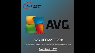 Get AVG Ultimate 2 Years Subscription For FREE From Al-Msoty Technology