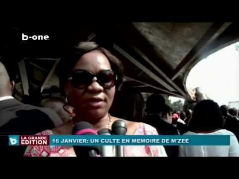 16 Janvier : Culte en Mémoire de Mzee...