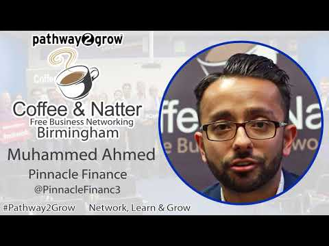 Muhammed Ahmed Coffee & Natter Birmingham Free Business Networking Testimonial
