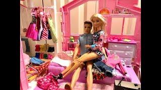 Barbie Bedroom Routine! POOL!