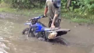 Dirt Bike And ATV Mudding + dirt bike Mudding FAIL