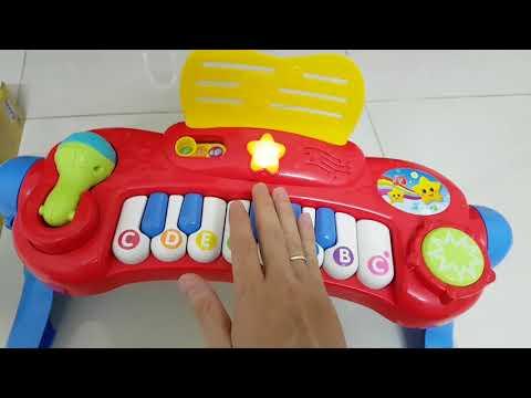 Đàn đồ chơi trẻ em ( quà tặng khi mua bỉm, tã Moony )