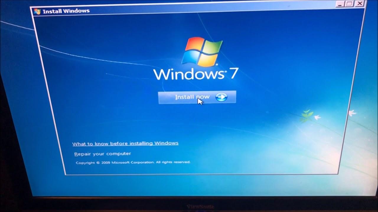 HOW TO FIX Windows 7/8/10 black boot screen Blinking Underscore/cursor on  startup