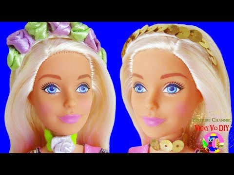 DIY BARBIE HACKS. Miniature Barbie accessories for doll. Beauty supplies tutorial