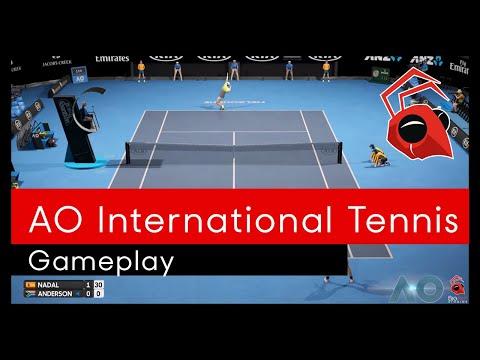 AO Tennis in action