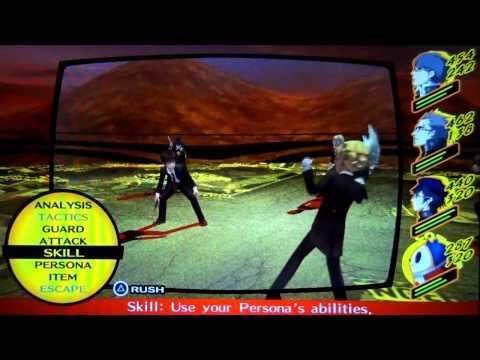 Persona 4 Golden - Boss: The Culprit (Very Hard Mode)